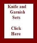 Knife & Garnish Sets
