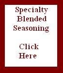 Specialty Blended Seasoning